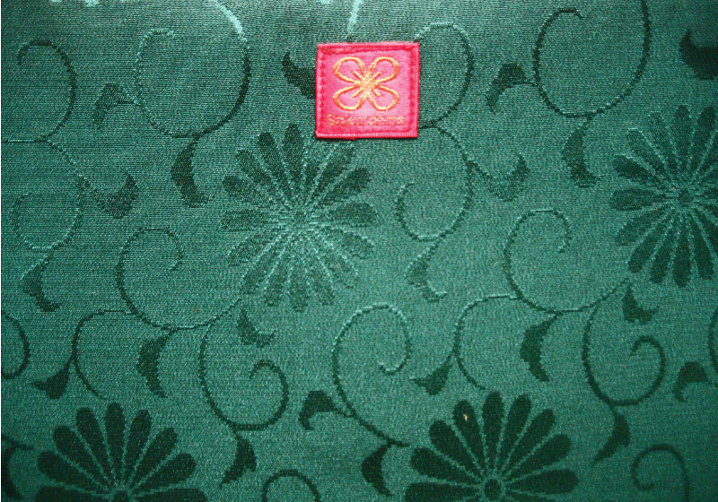 М3..額縁マネキン緑菊タグ