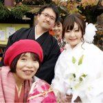 ふんどしパンツで婚礼写真